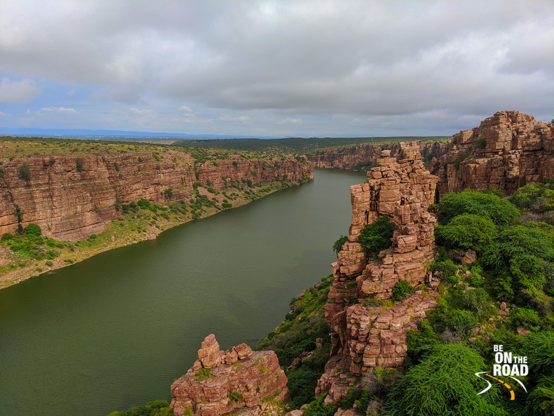 Pennar River Canyon at Gandikota - One of India's beautiful natural wonders