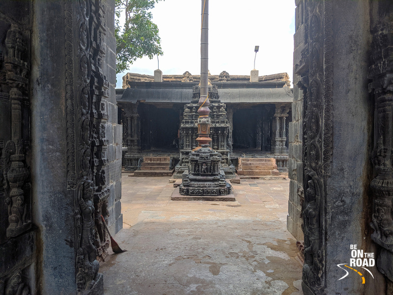 Entering Tadipatri's Chintala Venkataramana Temple