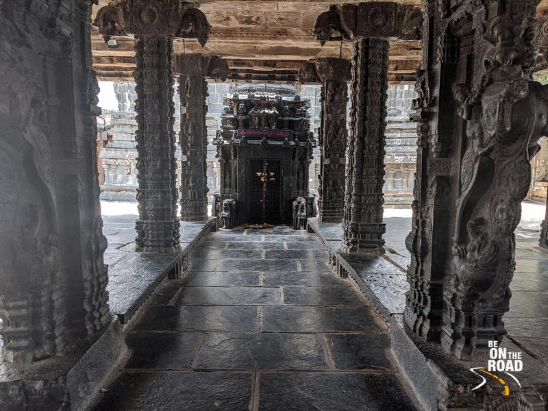 Hampi Vittala temple like carved pillars at Tadipatri temple