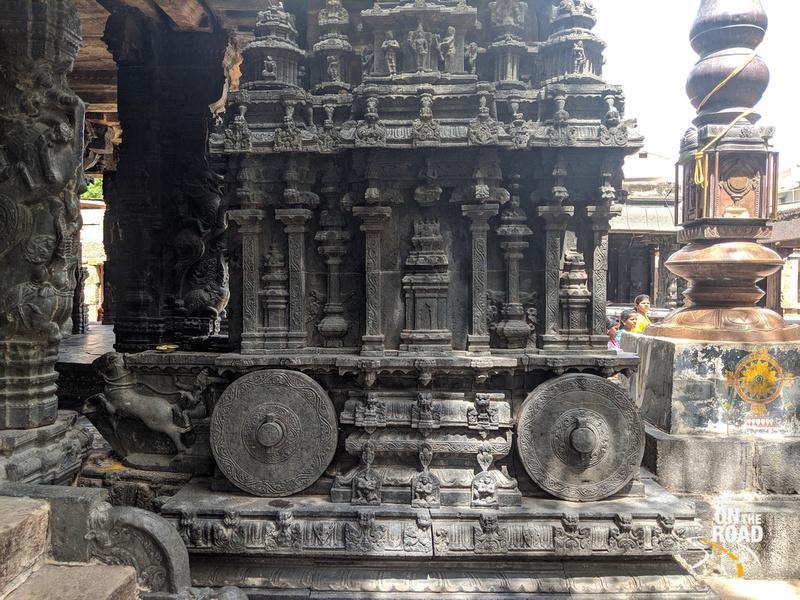 Hampi Vittala Temple like horse chariot at Chintala Venkataramana Temple, Tadipatri