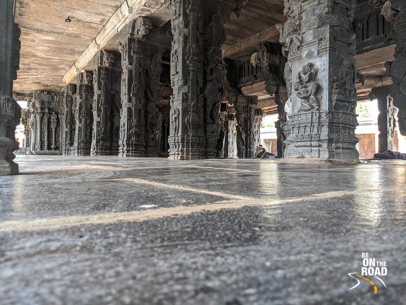 The main mantapa of Chintala Venkataramana Temple, Tadipatri