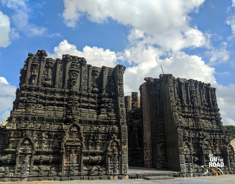 The incomplete, yet massive gopuram of Bugga Ramalingeswara temple, Tadipatri
