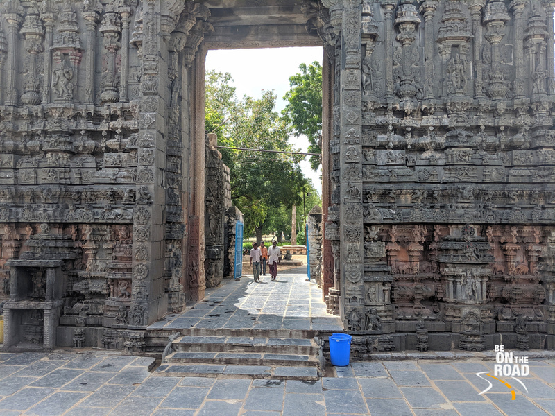 The main gopuram entrance of the Bugga Ramalingeswara Temple, Tadipatri