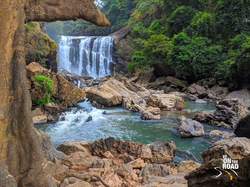 Sathodi Falls - The prettiest jungle waterfall of Karnataka