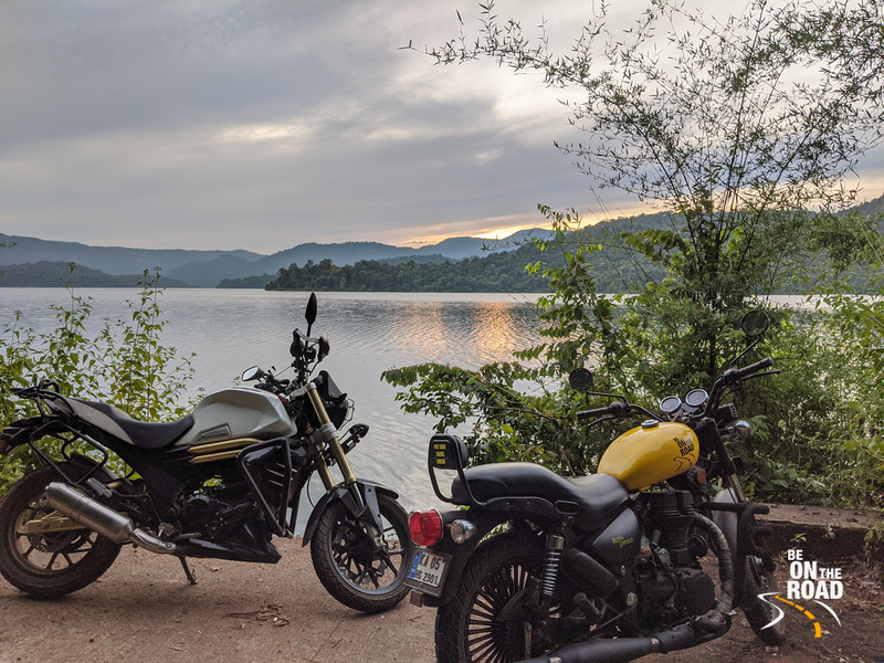 Motorcycle Ride to Kodasalli reservoir, Karnataka