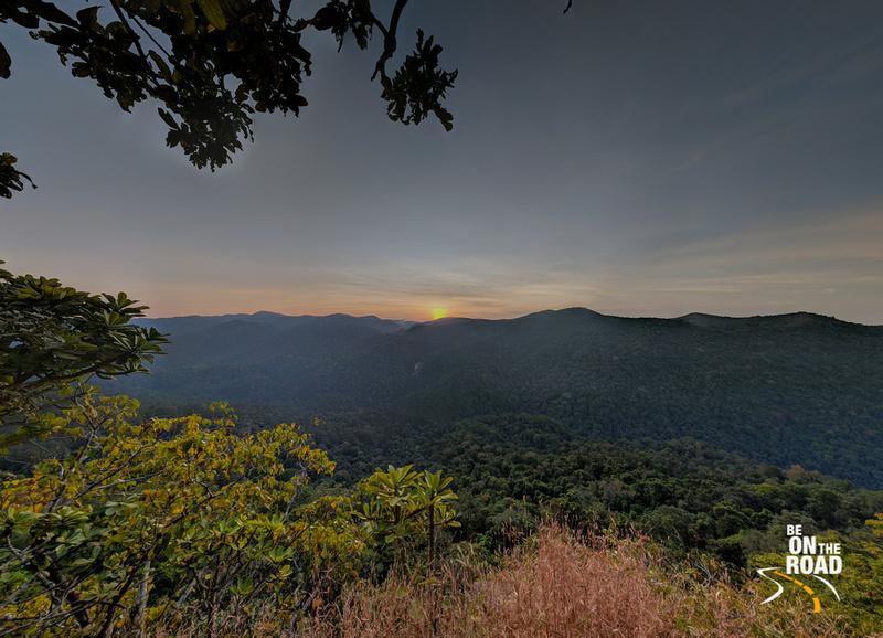 Sunset at Bilohole Falls near Jajjigudde, Uttara Kannada, Karnataka