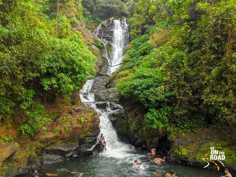 The pristine Vibhuti falls in Uttara Kannada, Karnataka