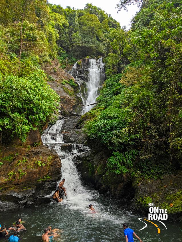 Vibhooti Falls - waterfall with a swimming pool