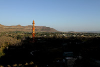 Aurangabad view from the top of Daulatabad Fort