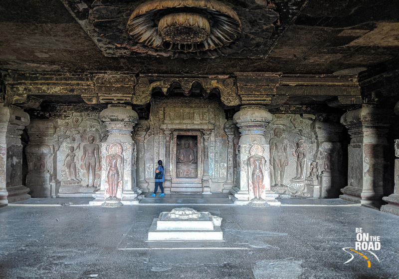 Inside the Jain temples of Ellora