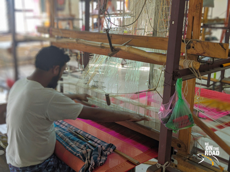 The saree weavers of Chanderi, Madhya Pradesh