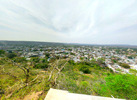 Chanderi village - an aerial view