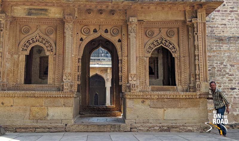A moment from Jama Masjid, Chanderi, Madhya Pradesh