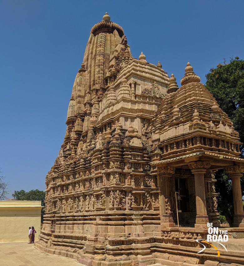 The massive Parsvanath Temple, Khajuraho