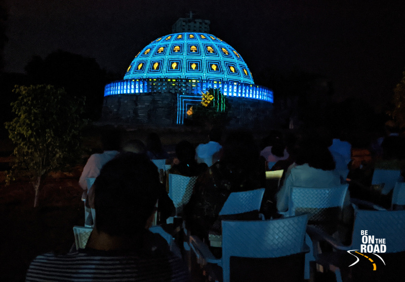 Sound and Light show at Sanchi Stupa, Madhya Pradesh