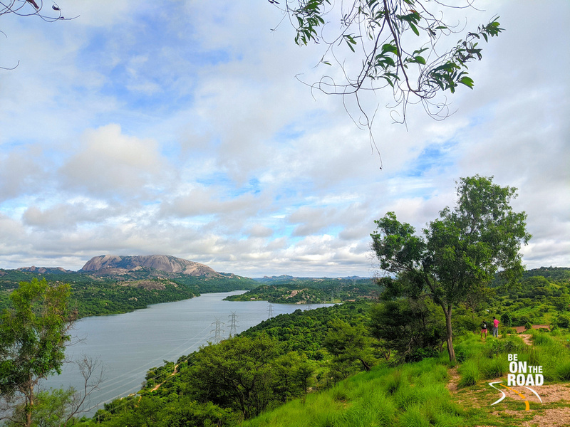 Manchinbele Reservoir in the monsoons
