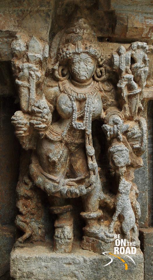 Mahisasura Mardini at Brahmeshvara Temple, Kikkeri