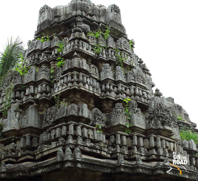 Shikhara of Brahmeshvara Temple, Kikkeri