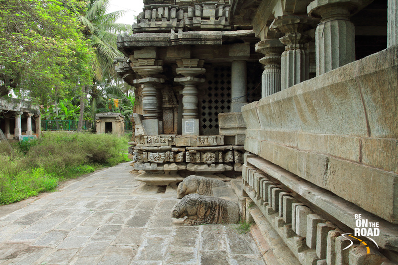 The gorgeous entrance to the ancient Brahmeshvara Temple, Kikkeri