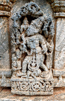 Varaha avatar depicted at Panchalingeswara Temple, Govindanahalli