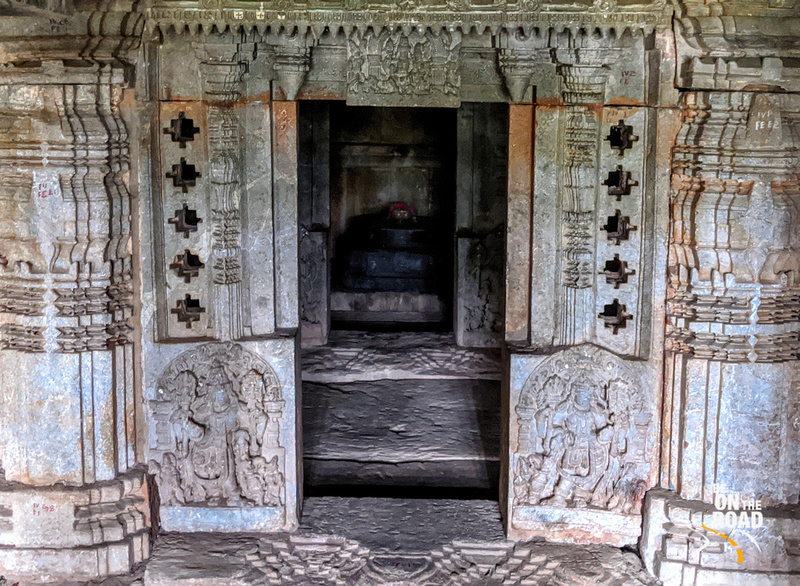 One of the five shrines to Lord Shiva at Panchalingeswara Temple, Govindanahalli