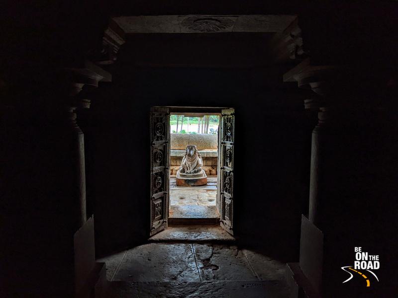 Panchalingeswara Temple Nandi view