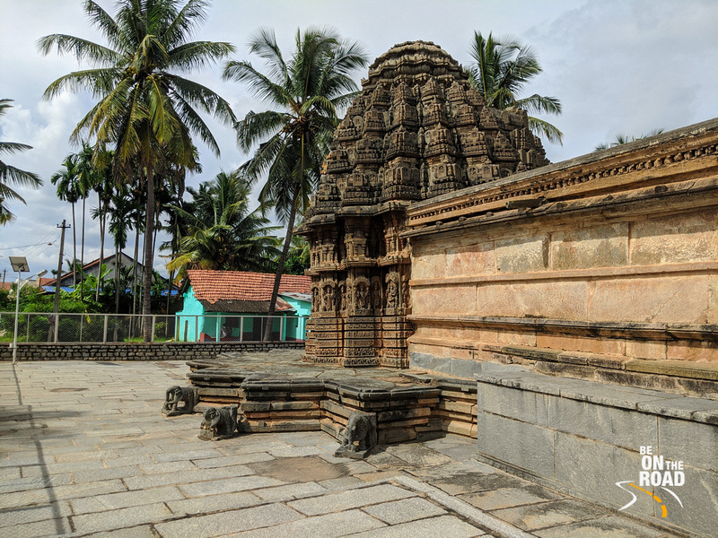 The rustic atmosphere of Chenna Keshava temple, Arlaguppe