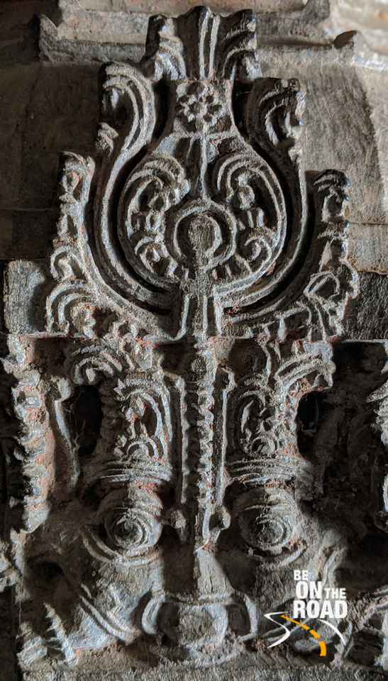 Yali or vaishya symbol inside Chenna Keshava temple at Arlaguppe
