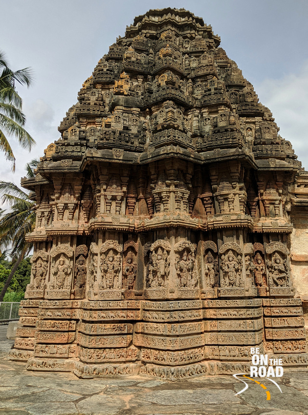 Every inch seems to be carved with rich detail - Chenna Keshava temple, Arlaguppe