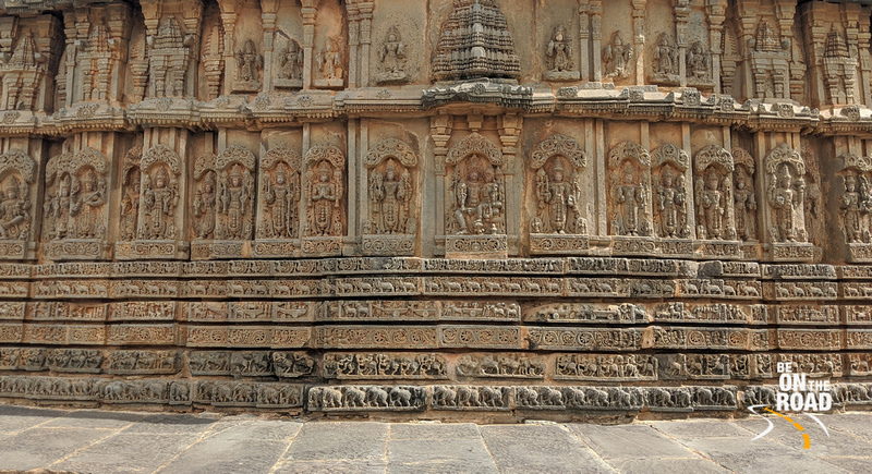 Hindu gods, their life stories, epics and much more on the walls of Chenna Keshava temple, Arlaguppe, Karnataka