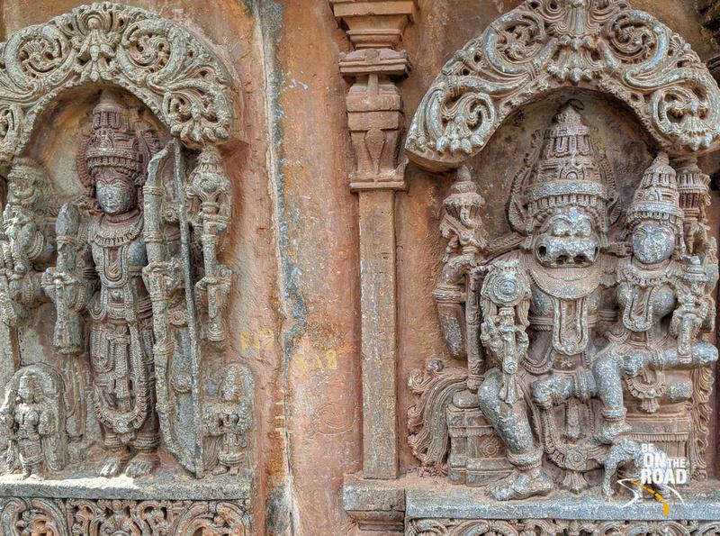 Lakshmi Narasimha at Arlaguppe Chenna Keshava temple
