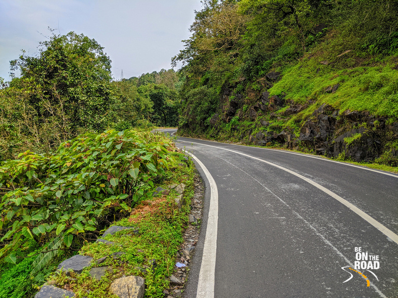 The grogeous Hulikal Ghat road