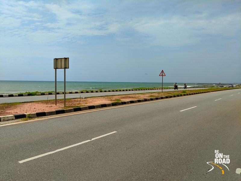 The Maravathe beach highway drive