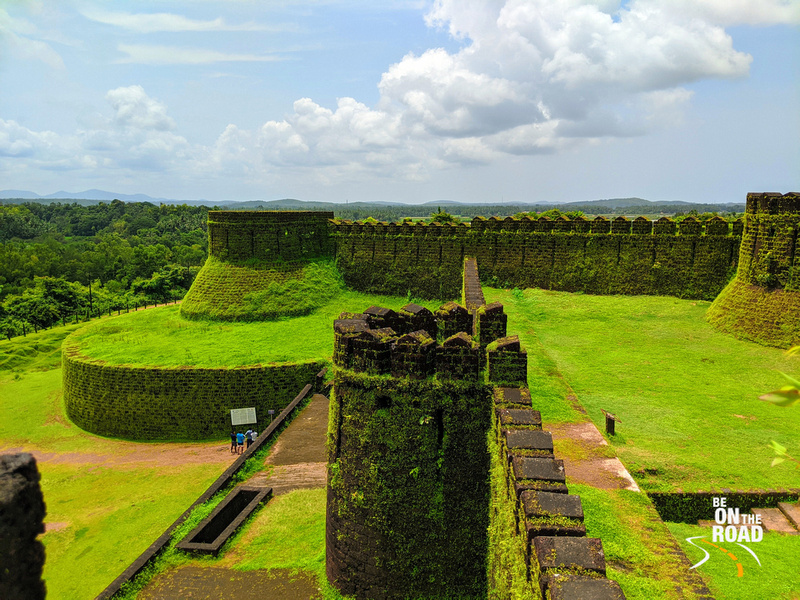 The 16th century Mirjan Fort decked in green