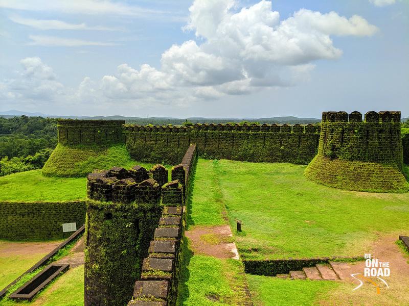 A monsoon day at Mirjan Fort, Karnataka