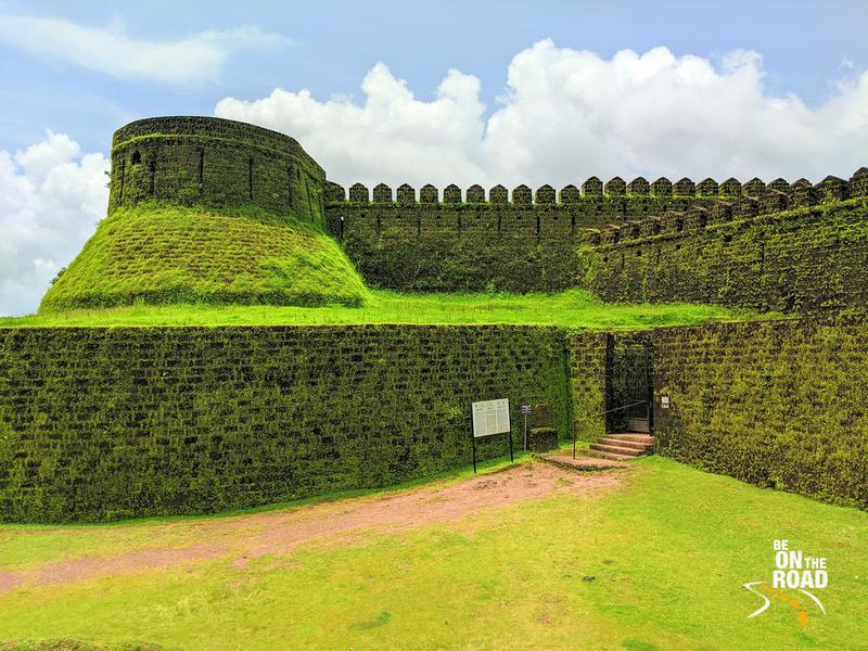 Mirjan Fort in the monsoons