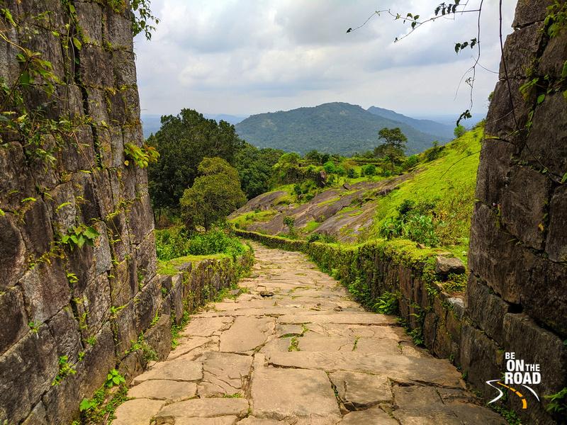 Kavaledurga Fort pathway