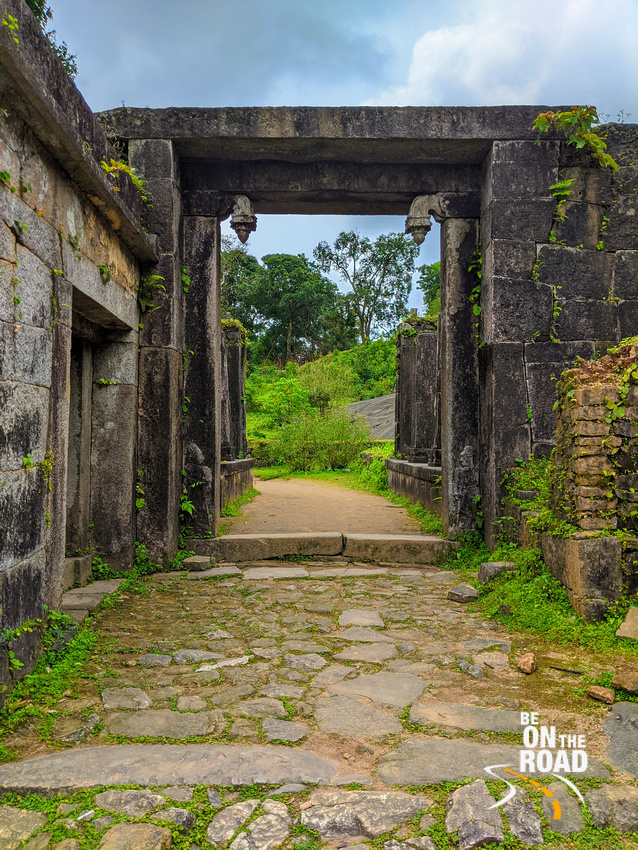 The doorway that leads into Kavaledurga Fort premises