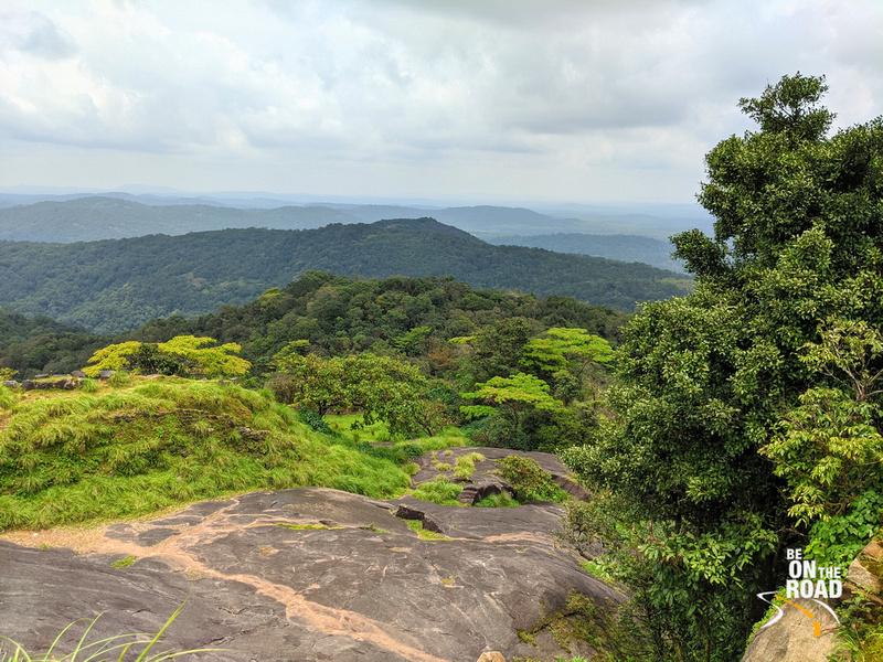 The green expanse inside Kavaledurga Fort
