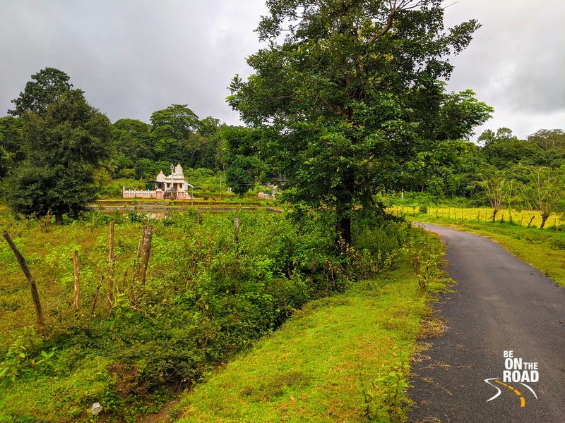 Digambar temple near Sonda, Karnataka