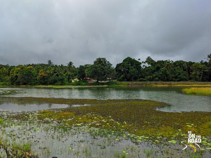 Lake in front of Sonda Vadiraja Mutt