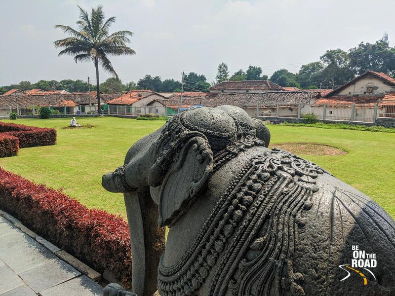 Beautiful view of Belavadi village from the Veera Narayana Temple
