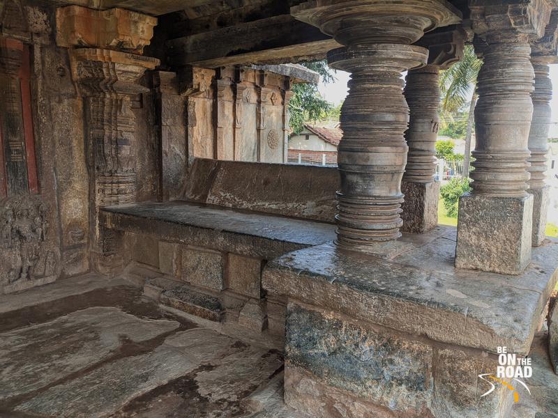 Jagli Katte at Veera Narayana Temple, Belavadi