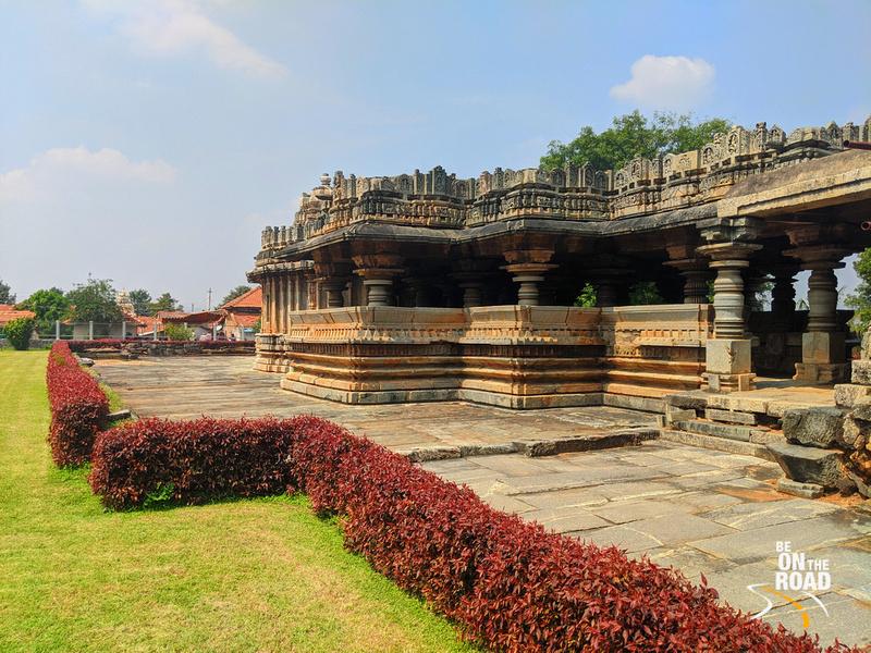 Beautiful campus of Veera Narayana Temple, Belavadi, Karnataka