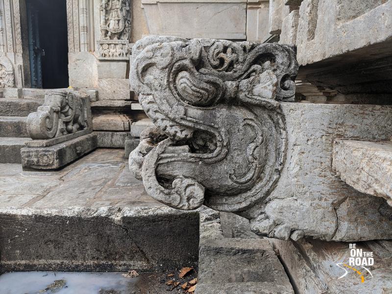 Gargoyle at Lakshmi Devi Temple, Doddagaddavalli, Karnataka