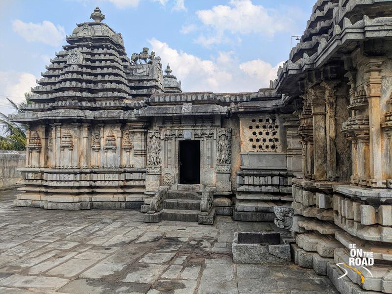 The entrance view of Lakshmi Devi temple, Doddagaddavalli