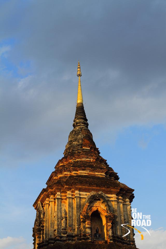 Old stupa near Wat Chedi Luang, Chiang Mai, Thailand