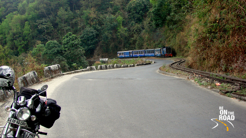 "Chugging along with the World Heritage ""Toy Train"" to Darjeeling, West Bengal, India"