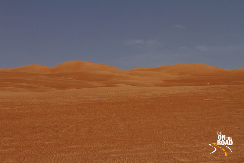 The lovely landscape of Wahiba Sands, Oman
