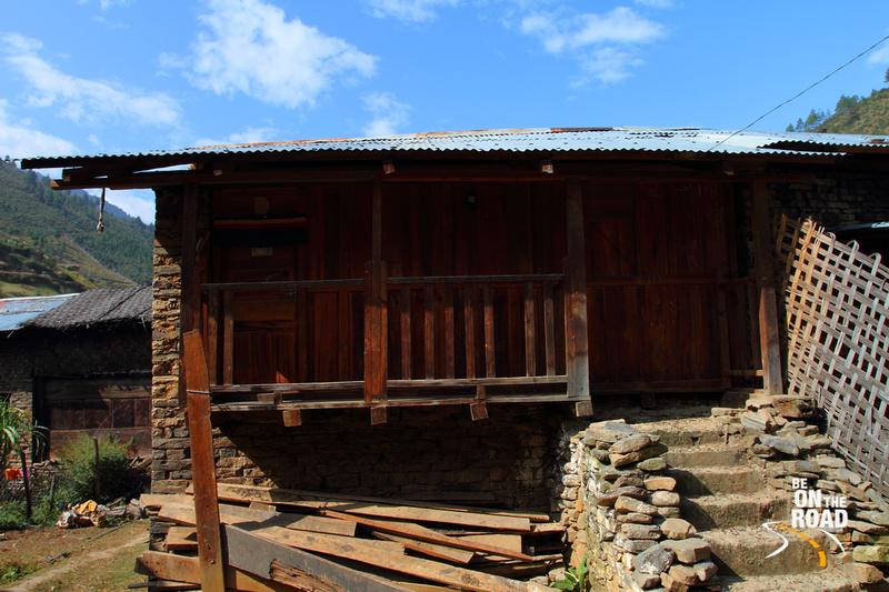 House inside Dirang Basti